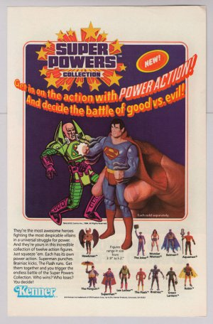 Super Powers action figures '80s PRINT AD Kenner toys vintage advertisement 1984