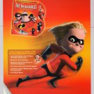 Incredibles DVD video game 2-sided PRINT AD Pixar advertisement 2004