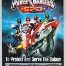 Power Rangers S.P.D. tv series PRINT AD Disney ABC advertisement SPD 2005