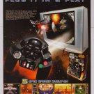 STAR WARS video game PRINT AD advertisement 2005