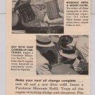 PUROLATOR oil filter '40s PRINT AD automotive Summer-Proof vintage advertisement 1949