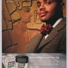 RIGHT GUARD Charles Barkley '90s PRINT AD deodorant NBA Suns advertisement 1996