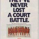 State Farm '90s PRINT AD USA Basketball Women's National Team 1996