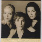 Aetna '90s PRINT AD Dorothy Hamill NANCY KERRIGAN Nicole Bobek 1998