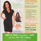 MARIE OSMOND Nutrisystem PRINT AD advertisement 2010