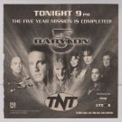 Babylon 5 '90s PRINT AD tv series TNT sci-fi advertisement 1998