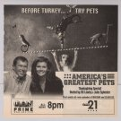 Ali Larter '90s PRINT AD America's Greatest Pets advertisement 1998