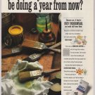 BVD underwear '90s PRINT AD briefs paint rag advertisement 1993