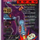 PHANTOM 2040 video game '90s PRINT AD cartoon advertisement 1995