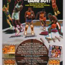 NBA All-Star Challenge 2 '90s PRINT AD basketball video game advertisement 1992