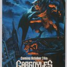 GARGOYLES tv series '90s PRINT AD Walt Disney animation cartoon advertisement 1994