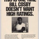 BILL COSBY American Heart Association &#39;90s PRINT AD blood pressure advertisement 1991