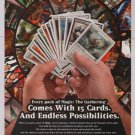 Magic: The Gathering PRINT AD fantasy card game advertisement 2006