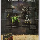 DREAMBLADE Anvilborn PRINT AD miniatures game Wizards advertisement 2007