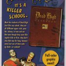 Dead High Yearbook PRINT AD Dutton Books Penguin advertisement 2007