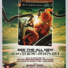 SPIDER-MAN 2.1 DVD movie PRINT AD superhero Dr. Octopus tentacles advertisement 2007