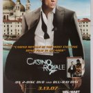 JAMES BOND Daniel Craig Casino Royale PRINT AD movie advertisement 2007