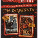 DARREN SHAN The Demonata PRINT AD books novels advertisement 2007