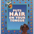 Tang orangutan PRINT AD fruit drink advertisement blue 2002