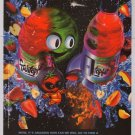 FRUITOPIA fold-in PRINT AD '90s fruit juice advertisement 1998