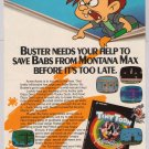 TINY TOONS video game '90s PRINT AD Monty Konami advertisement 1992
