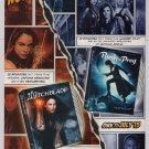WITCHBLADE Birds of Prey PRINT AD Yancy Butler TV series DC Comics DVD advertisement 2008