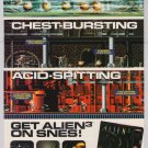ALIEN 3 video game '90s PRINT AD aliens movie Super NES advertisement 1993