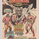 WARLORD Hercules ARAK '80s PRINT AD toys DC Comics Kmart Remco vintage advertisement 1983