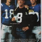 Got Milk Peyton Manning, Eli Manning PRINT AD advertisement Archie NFL 2004