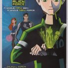 BEN 10 ALIEN FORCE Cartoon Network PRINT AD animated series advertisement 2008