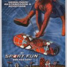 SPIDER-MAN 2 skateboard scooter PRINT AD advertisement 2004