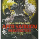 AFRO SAMURAI Resurrection PRINT AD Spike animated anime movie advertisement 2008
