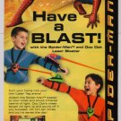 SPIDER-MAN 2 Laser Blaster PRINT AD laser tag toy advertisement 2004