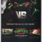 Teenage Mutant Ninja Turtles Smash-Up PRINT AD video game TMNT advertisement 2009