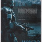 HALO 3 video game PRINT AD Xbox advertisement ODST 2009