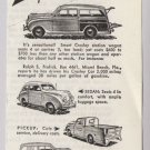 Crosley Motors cars '40s PRINT AD vintage automobile advertisement 1948