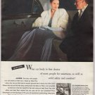 Body by Fisher '40s old PRINT AD car bodies - rich couple - General Motors cars vintage ad 1948