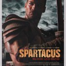 Spartacus: Blood and Sand PRINT AD Starz TV series advertisement 2009