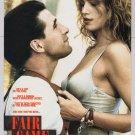 FAIR GAME Cindy Crawford '90s PRINT AD William Baldwin movie advertisement 1995
