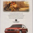 1997 Buick LeSabre '90s PRINT AD automobile car GM advertisement 1996