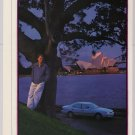 Toyota in Australia '90s 2-page PRINT AD Sydney Opera House automobile car advertisement 1997