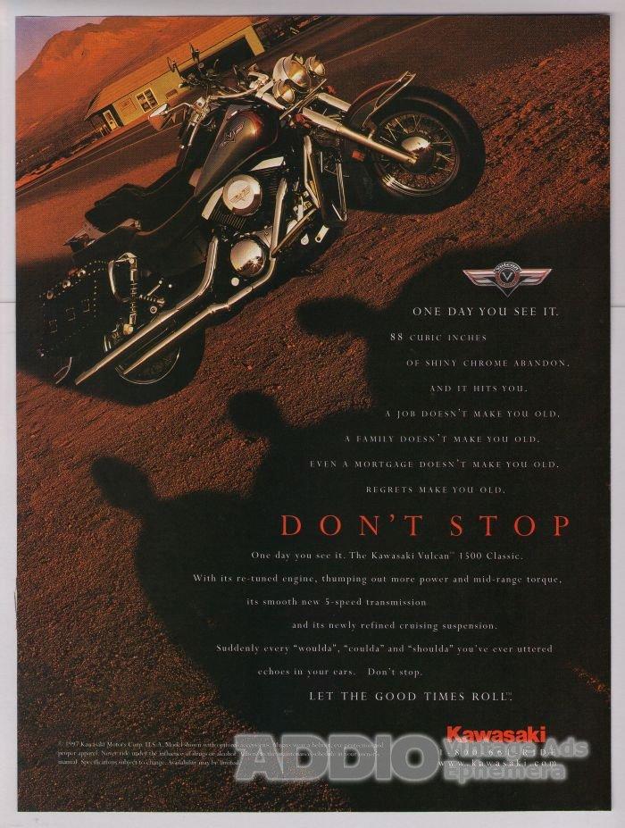 Kawasaki Vulcan Print Ads