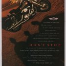 Kawasaki Vulcan 1500 Classic '90s PRINT AD motorcycle advertisement 1998
