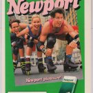 Newport cigarettes '90s PRINT AD rollerbladers smoking advertisement 1995