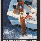 Celestino Vega Cigars '90s PRINT AD deep see fishing boat smoking advertisement 1997