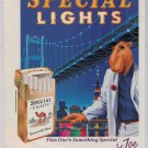 Joe Camel Special Lights '90s PRINT AD cigarettes smoking advertisement 1993
