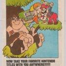 Nintendo Game & Watch PRINT AD Donkey Kong Jr., Super Mario handheld advertisement