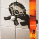 Chivas Regal whiskey PRINT AD cold shower alcohol advertisement 2001