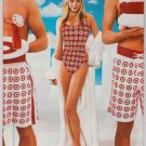 Target PRINT AD swimsuit model bullseye advertisement 2001