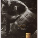 GLENLIVET Scotch whiskey PRINT AD alcohol whisky advertisement 2001